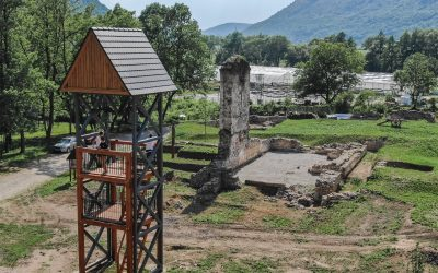 Vyhliadková veža s oknom do minulosti a netradičným zdrojom pitnej vody