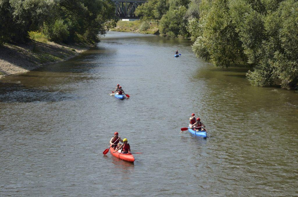 Po vode za poznaním - splavovanie rieky Ondava