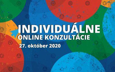 INDIVIDUÁLNE online konzultácie