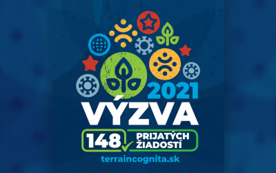 O podporu z výzvy Terra Incognita na rok 2021 bol obrovský záujem