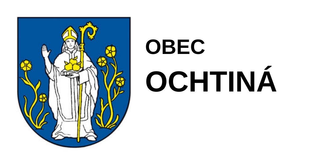 Obec Ochtiná