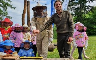Na hranici národného parku sa usadili Včely raja. Budú zabávať, vzdelávať i liečiť.