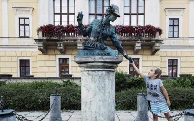 Piaty ročník festivalu Živé sochy s Matejom Landlom aj svetoznámym mímom Milanom Sládkom
