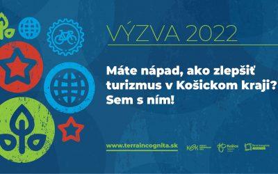 Aktuálna výzva na podporu cestového ruchu pre rok 2022