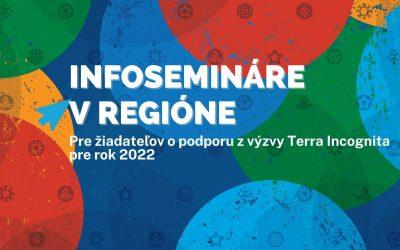 Infosemináre k Výzve 2022