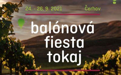 Balónová fiesta ako súčasť Tokajského vinobrania